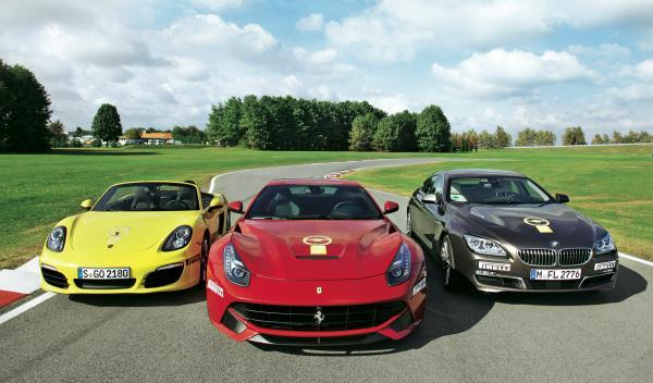 Vencedores mejor berlina Ferrari F12, el Porsche Boxster y el BMW Serie 3