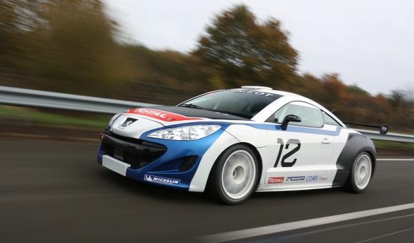 Peugeot RCZ Racing Cup frontal