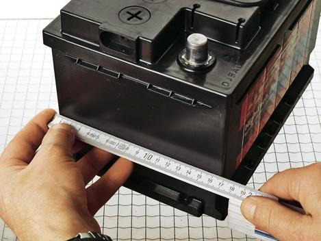 medidas batería coche
