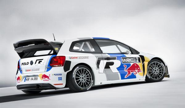 VW Polo R WRC de competición trasera