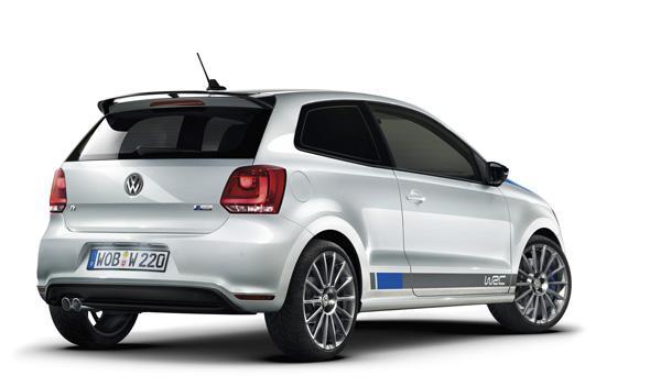 VW Polo R WRC de calle trasera