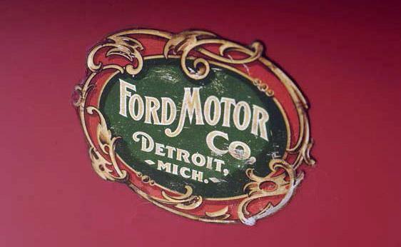 Ford A 1903 detalle logo