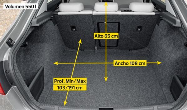 Seat Toledo interior maletero