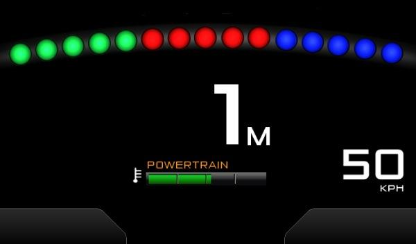 McLaren P1 modo RAce