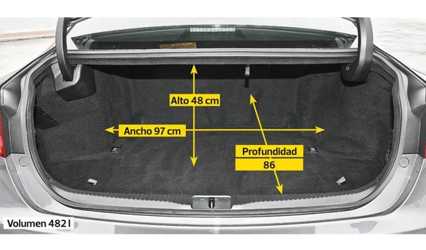 Lexus GS 450 h F-Sport maletero
