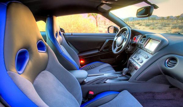 Nissan GT-R Track Edition interior