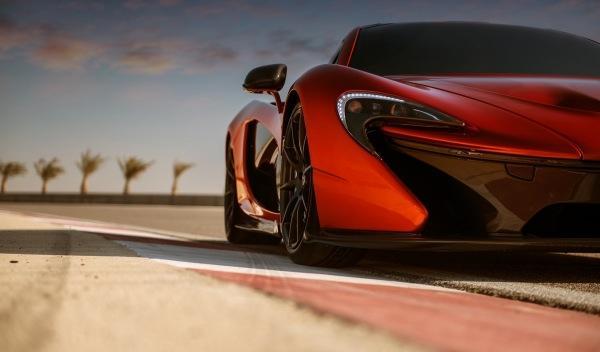 McLaren P1 Concept aerodinámica
