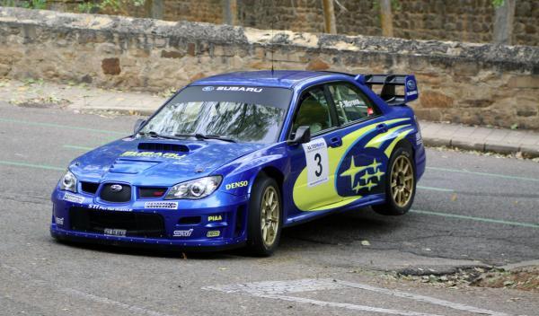 Subaru Impreza de Pedro Morera