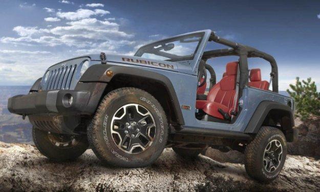 Jeep Wrangler Rubicon 10 Aniversario salon ginebra 2013