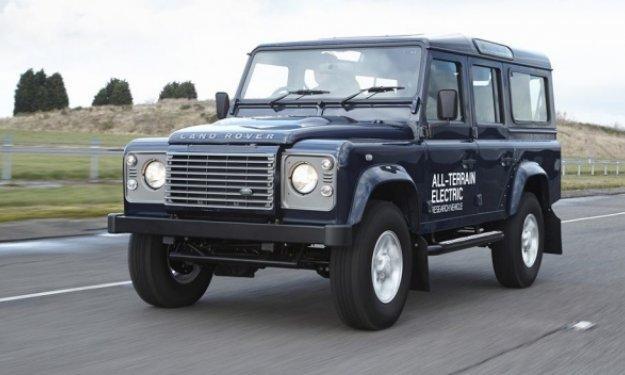 Land Rover Defender eléctrico Salón de Ginebra 2013