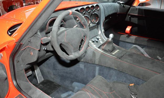 Wiesmann GT MF4-CS 25 interior