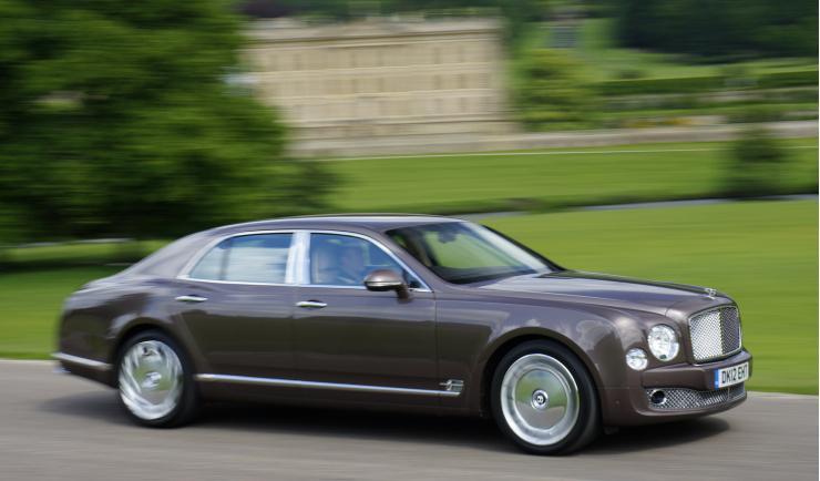 Bentley Mulsanne de Hugo Chávez exterior