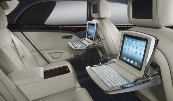 Bentley Mulsanne de Hugo Chávez interior