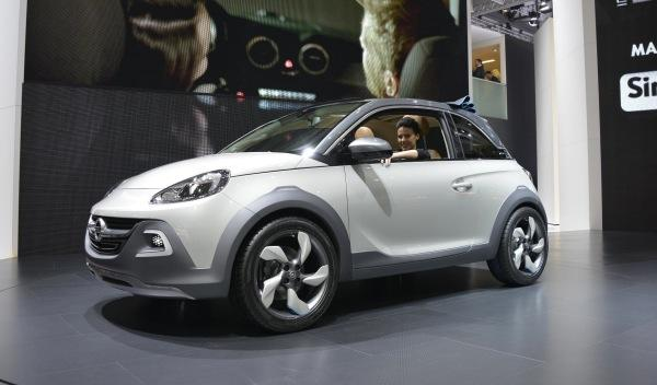 Opel Adam Rocks lateral salon ginebra 2013