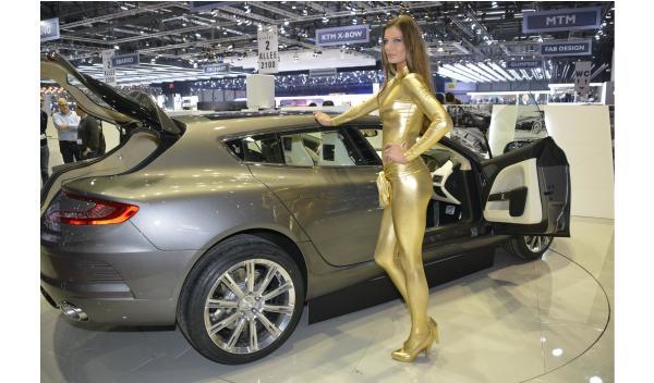 Aston Martin Bertone Salón Ginebra 2013