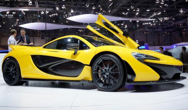 McLaren P1 Salon de Ginebra 2013