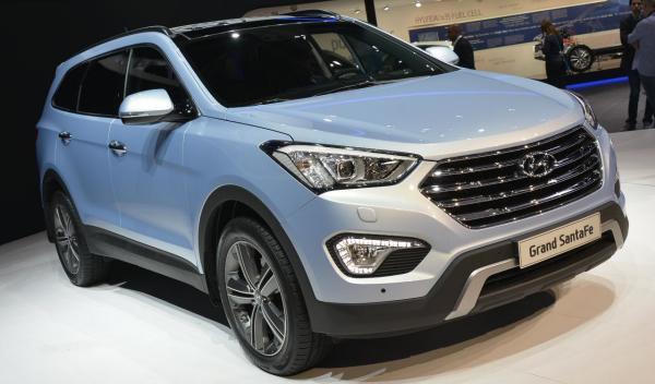Hyundai Grand Santa Fe Salon de Ginebra 2013