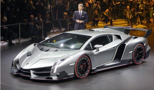 Lamborghini Veneno Salon de Ginebra 2013