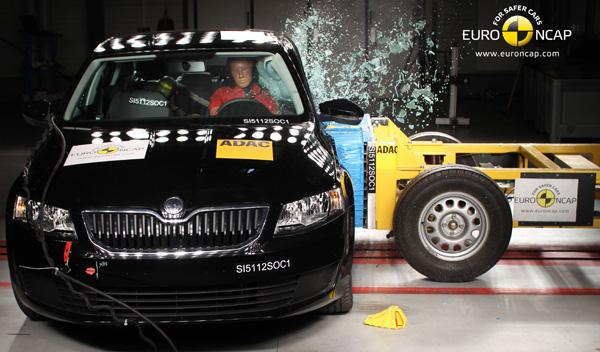 Crasht test Euro NCAP Skoda Octavia