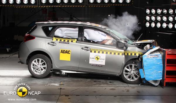Crasht test Euro NCAP Toyota Auris