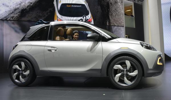 Opel Adam Rocks Salon de Ginebra 2013