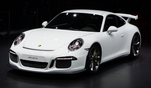 Porsche 911 GT3 Salon de Ginebra 2013