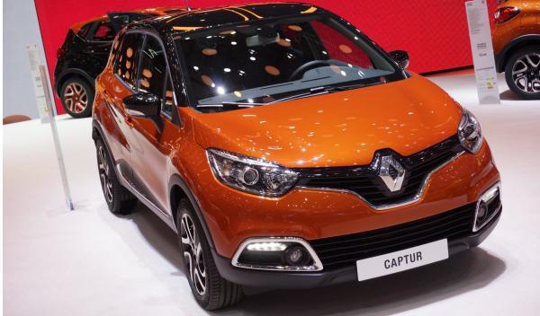 Renault Captur Salon de Ginebra 2013