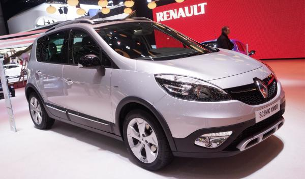 Renault Scénic XMOD Salon de Ginebra 2013
