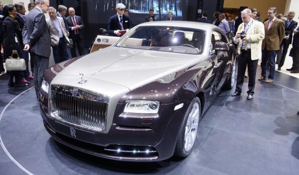 Rolls-Royce Wraith Salon de Ginebra 2013
