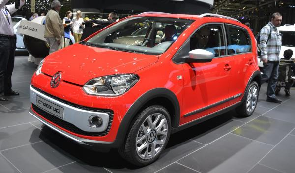 VW cross up Salón de Ginebra 2013