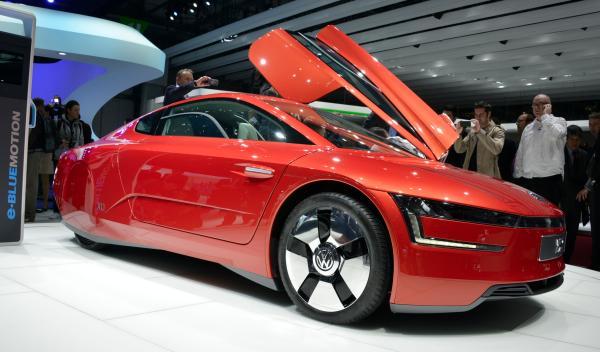 Volkswagen XL1 Salon de Ginebra 2013