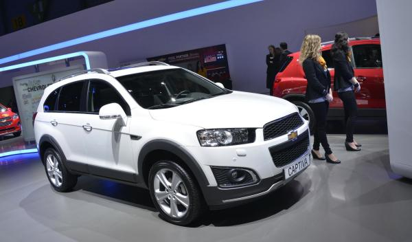 Chevrolet Captiva 2013 Salon de Ginebra 2013