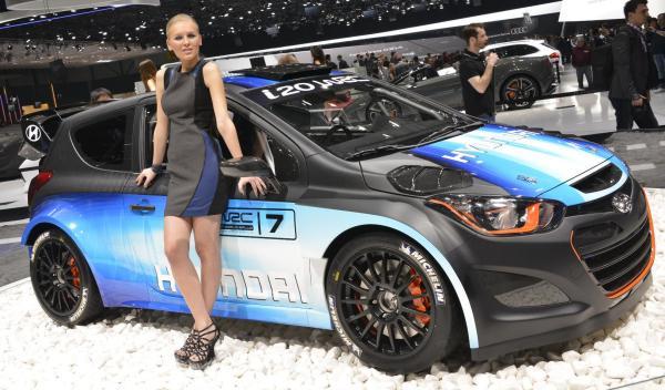 Hyundai i20 WRC modelo