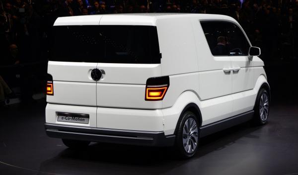 VW e-Co-Motion Salón de Ginebra 2013