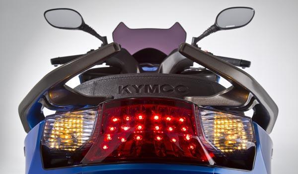 Kymco K-XCT, ópticas traseras