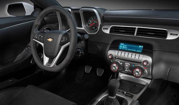 Chevrolet Camaro Z28 interior