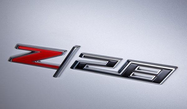 Chevrolet Camaro Z28 detalle