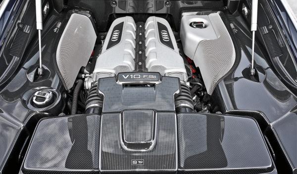 Audi R8 V10 S-Tronic motor V10