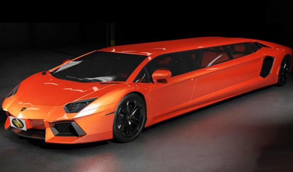 limusina Lamborghini Aventador