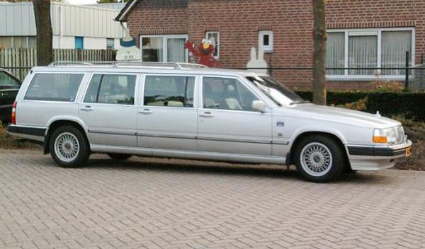 limusina volvo 960