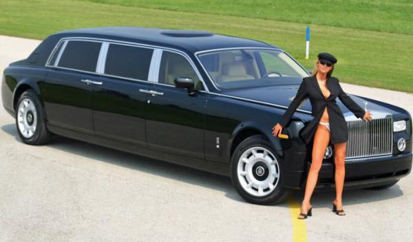 limusina Rolls Royce Phantom