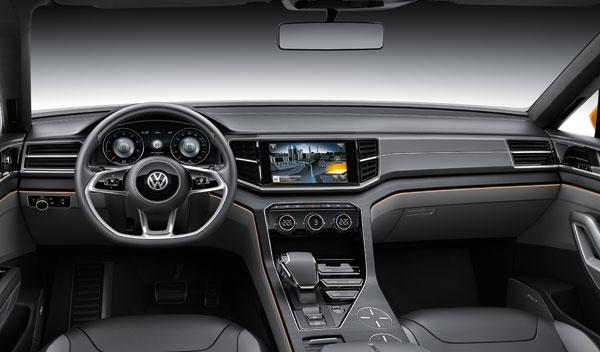 VW CrossBlue Coupé interior