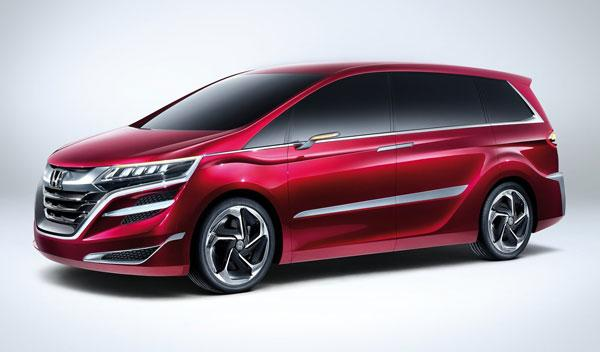 Honda Concept M tres cuartos