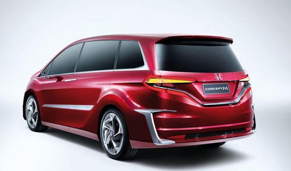 Honda Concept M trasera