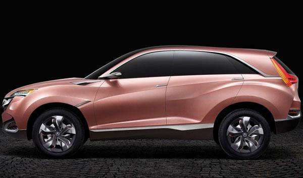 Acura SUV-X Concept lateral