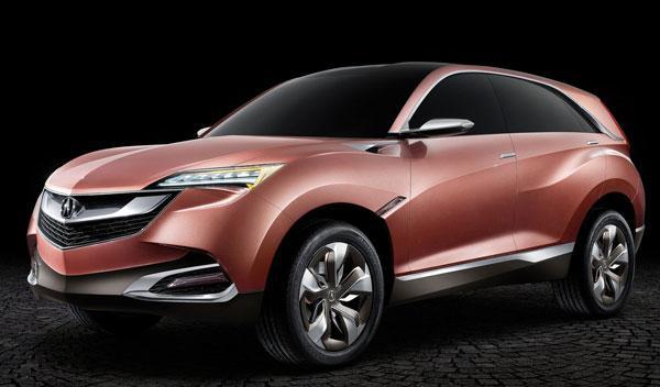 Acura SUV-X Concept tres cuartos delanteros