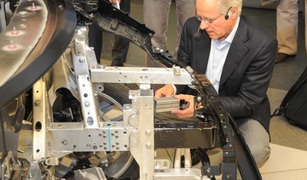 El frontal del BMW i3 tiene la misma resistencia a los impactos que un BMW 118d