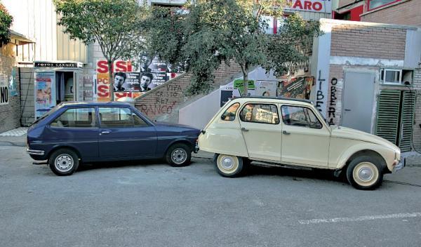 cuéntame cómo pasó Citroën Dyane 6