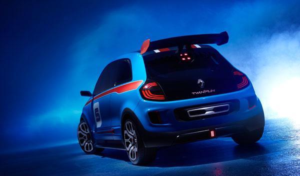 Renault Twin'Run trasera