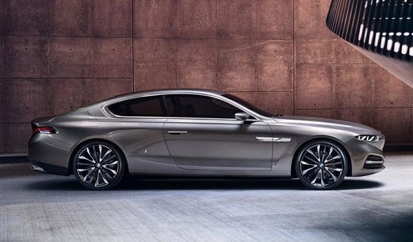 BMW Pininfarina Gran Lusso Coupe lateral